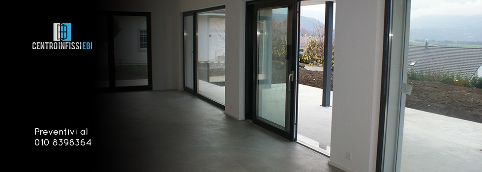 Preferenza Centroinfissi EGI - Finestre in PVC, alluminio, legno, scorrevoli  IU78